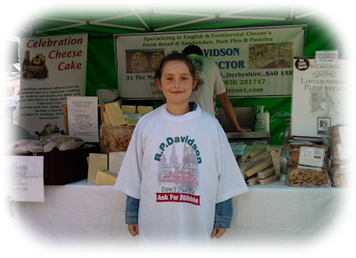 Third Generation Davidson helping out at Sheffield Farmers Market