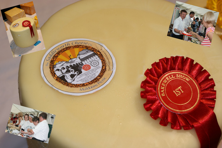 Prize Winning Saddleworth Cheese - Bakewell Show 2009