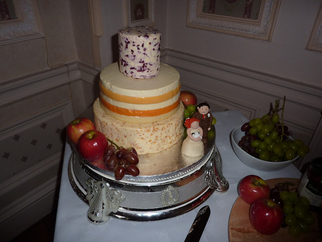 Cheese Wedding Cake Examples 19