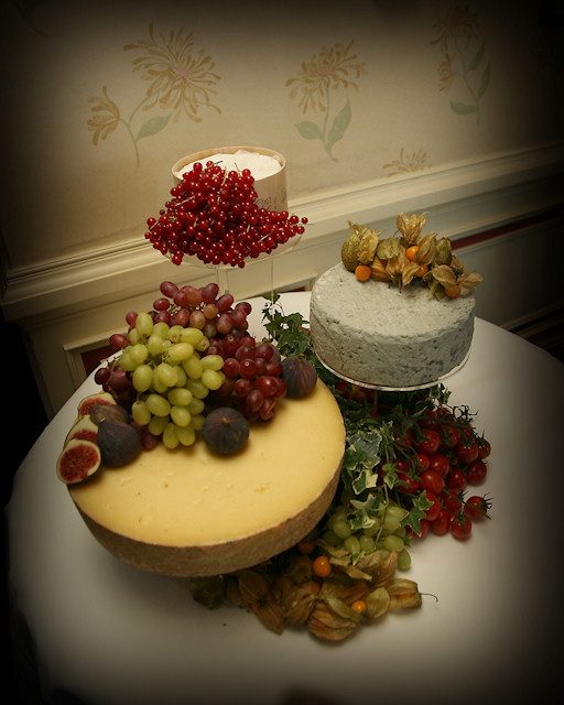 Cheese Wedding Cake Examples 20
