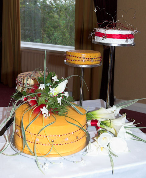 Cheese Wedding Cake Examples 4