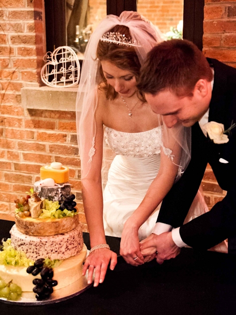 Cheese Wedding Cake Featured-Couples 9