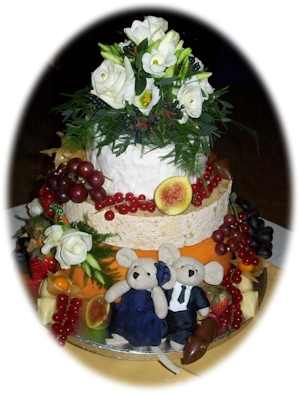 The Kitchen Wedding Cheese Cake from Davidson Cheese Factor